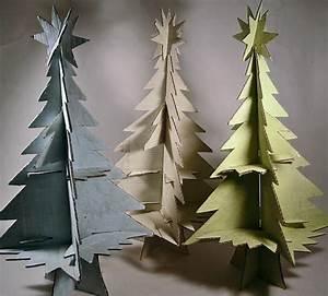 Sapin Noel Carton : 1001 id es cr atives comment fabriquer un arbre de noel en carton ~ Voncanada.com Idées de Décoration