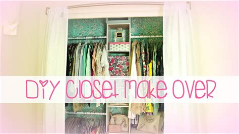 easy diy closet   belinda selene youtube