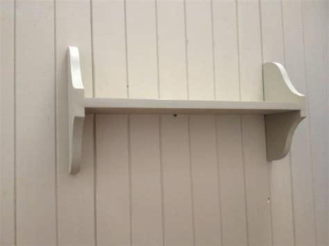 single tier solid pine wall shelf  sizes
