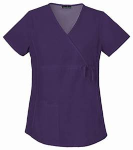 5 bright fun purple scrubs tops