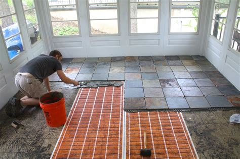 tile flooring for enclosed porch