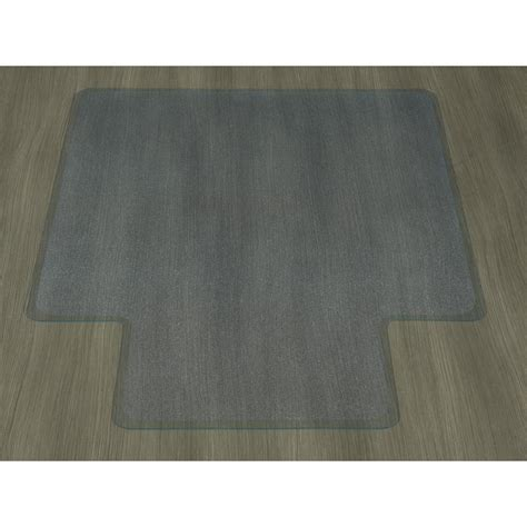 ottomanson floor clear 36 in x 48 in with lip vinyl