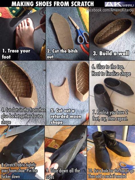shoe making tutorial cosplay amino