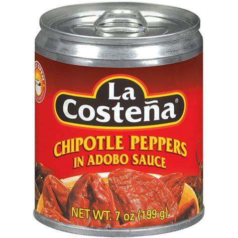 adobo sauce la costena in adobo sauce chipotle peppers 7 oz walmart com