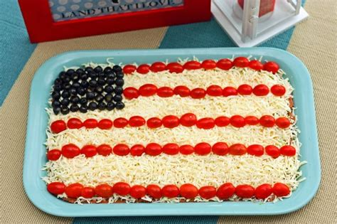 4th of july cowboy appetizer patriotic party dip recipe kid patriotic party and healthy