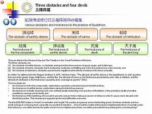 Three Obstacles And Four Devils  U4e09 U969c U56db U9b54