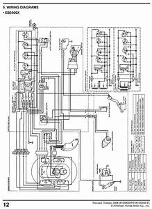 Honda Eg3500 Eg5000 Generator Service Repair Shop Manual