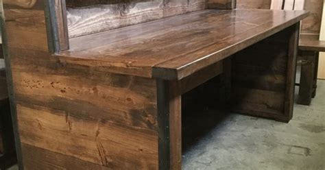 rustic industrial reception desk   tiers frazer