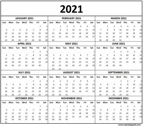 printable calendar  template  school