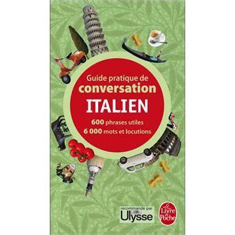 Comprendre Carte Restaurant Italien by Guide Pratique De Conversation Italien Poche Werner