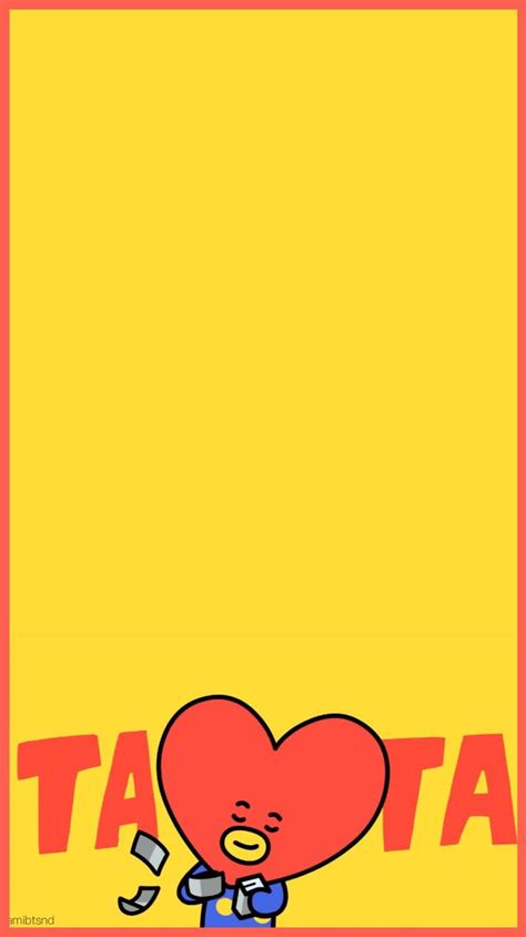 Tata Backgrounds by 91 Best Bt21 Images On Designs