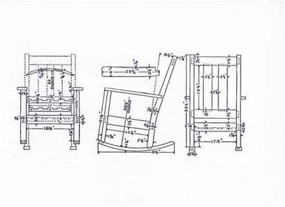 Rocking Plans Chair Plan Wooden Build Diy