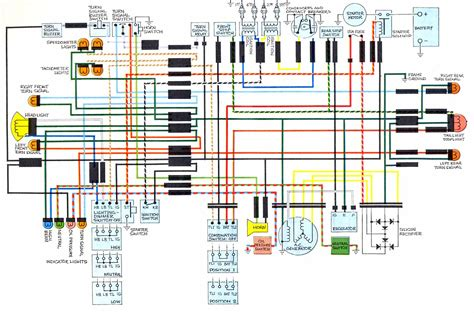 Cb 7 50 Wiring Diagram by Wiring Diagram Honda Cb750 K2 61507 Circuit And Wiring