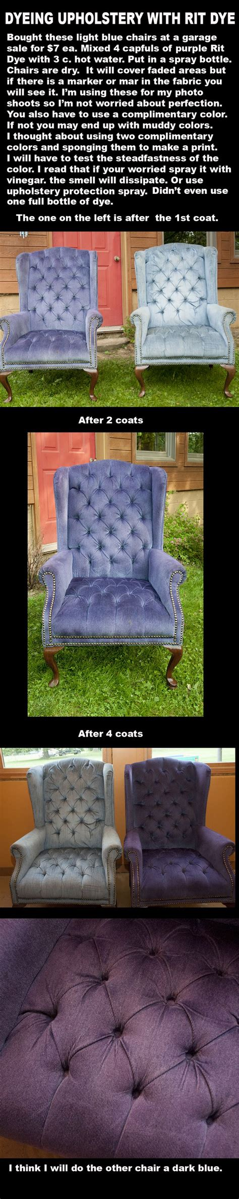 painting upholstery  rit dye decor crafts