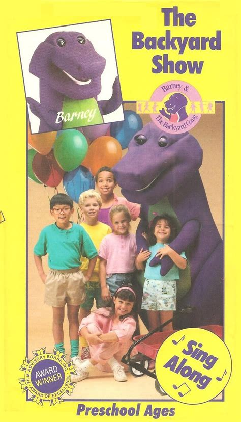 Barney The Backyard Show by Barney The Backyard The Backyard Show Vhs Books