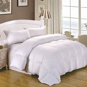 A guide to goose down comforter sizes best goose down for Best down pillows consumer reports