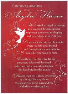 Grave, Card, Xmas-, Angel, In, Heaven