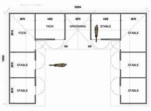 u shaped 6 stall horse barn floor plans pinterest With 6 stall horse barn plans