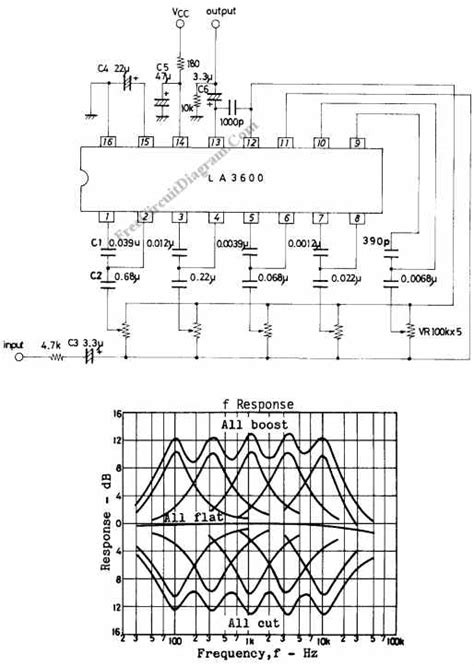 Band Graphic Equalizer Circuit Using Integrated