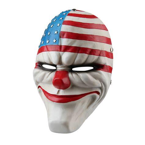 Payday 2 Halloween Masks 2015 by Resin Mask Fashion Game Payday 2 Dallas Masquerade