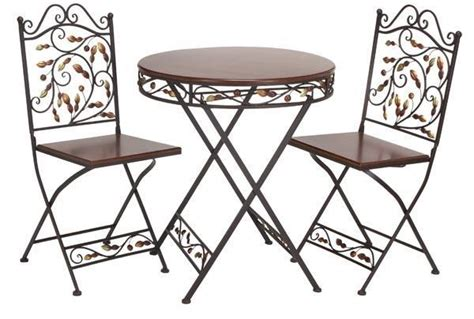 metal patio table and chairs patio design 383