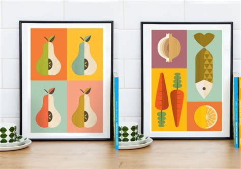 affiche cuisine retro awesome affiche scandinave vintage with affiche cuisine retro