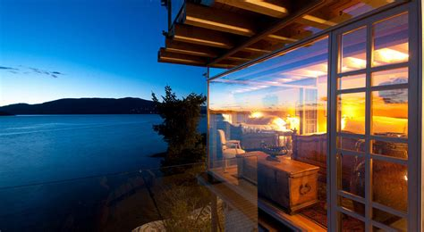 fabulous waterfront house  west vancouver