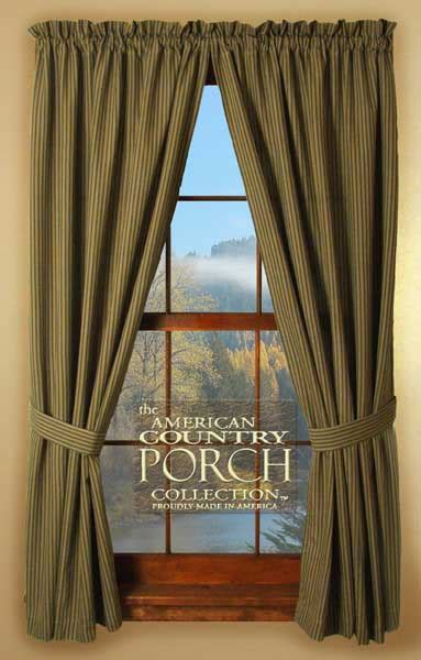 dover tieback curtain panels