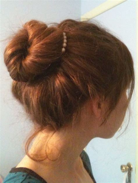 Easy Hairstyles For Hair by Easy Bun Hairstyles For Hair Popular Haircuts
