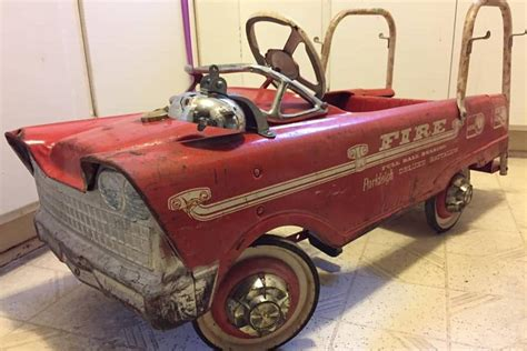 classic vintage toy  murray flat front pedal car
