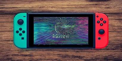 Nintendo Switch Production Cracked Affected Broken Screen