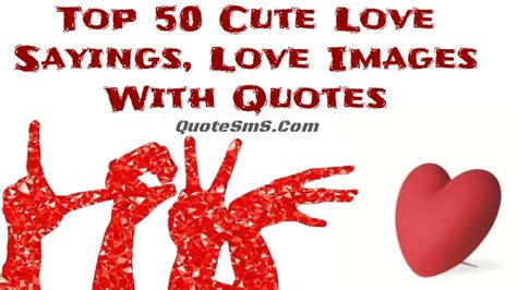 top  cute love sayings love images  quotes