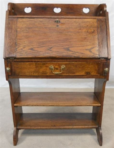 oak writing bureau uk arts craft period oak writing bureau 114673