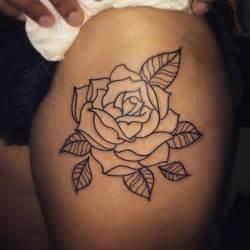 Rose Tattoo Outline Designs