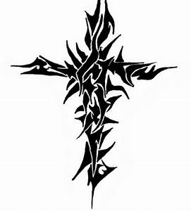 Free Design Tribal Cross Tattoos - Inofashionstyle.com