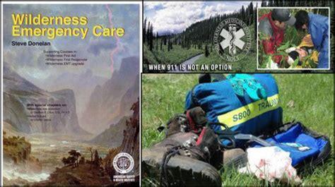 aid wilderness basic cascade course logging sierra conference inc flyer