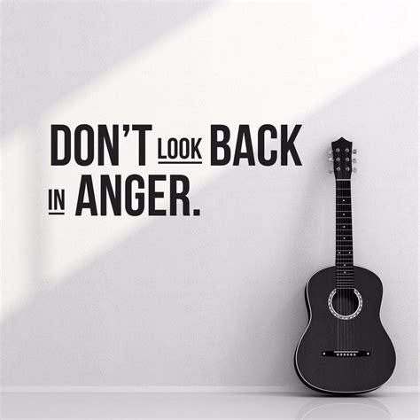 Dont Look Back In Anger Quotes