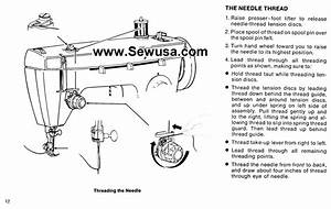 Singer 362 Sewing Machine Threading Diagram