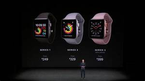 Apple Watch Wlan : apple watch series 3 starts at 329 for wifi only and 399 for lte pre order sept 15 ~ Orissabook.com Haus und Dekorationen