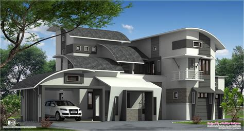 contemporary home plans modern contemporary home in kozhikode kerala home kerala plans