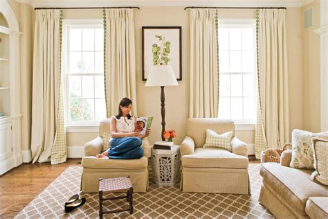 southern living formal living rooms spruce up your space with curtains 106 living room