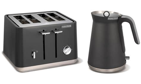 morphy richards toaster and kettle morphy richards kettle and toaster groupon
