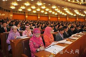 4th plenary meeting of 5th Session of 11th NPC held in ...
