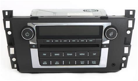 car repair manual download 2009 cadillac srx navigation system cadillac dts srx 2007 2009 radio am fm cd player w auxiliary input 15948004 tanga