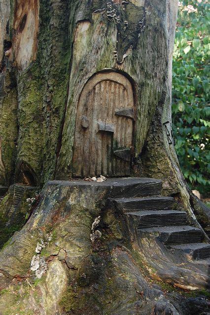 ideas  fairy doors  pinterest fairy