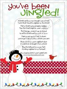 it s written on the wall christmas you ve been jingled cute way to package treats for