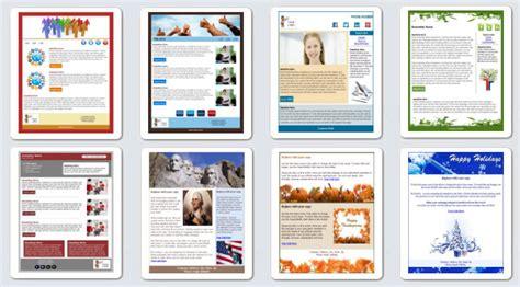 Create A Custom Newsletter Template Mailchimp by Create Email Newsletter Html Templates
