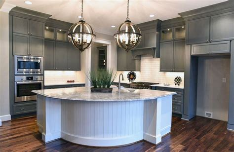 white kitchen pendant lights gray cabinets with quartz countertops savae org 1396