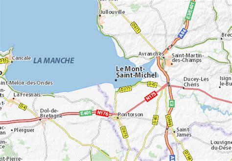 Carte Mont Michel Malo by Carte D 233 Taill 233 E Le Mont Michel Plan Le Mont