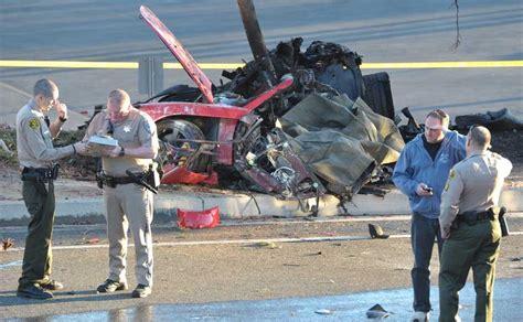 """Fast and Furious"" star Paul Walker dies in car crash"